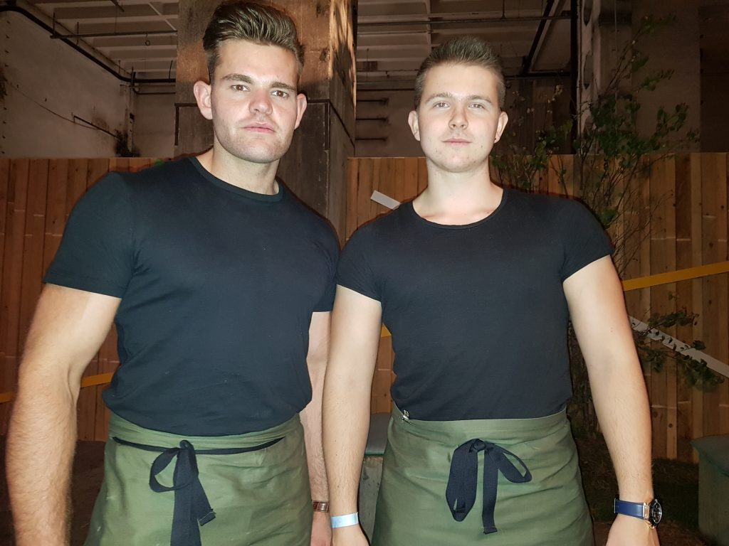 hamburg-waiters brand ambassadors